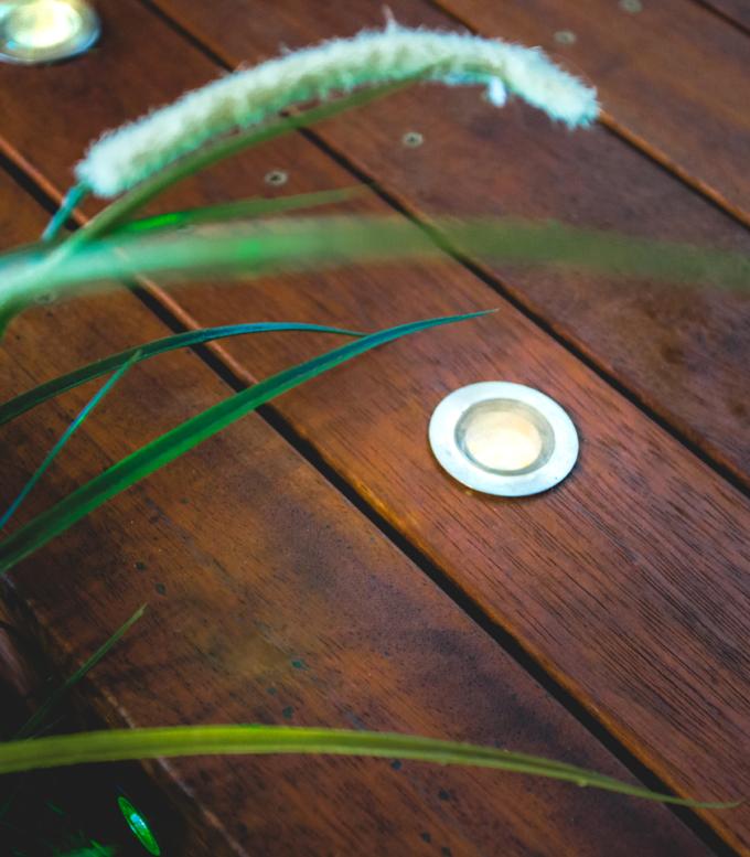 18mm Warm White Deck Lights